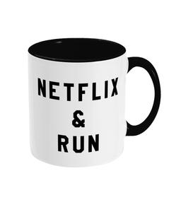 Netflix & Run Mug - Track and Fit Club