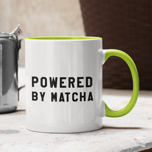 Powered by Matcha Mug