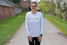 Load image into Gallery viewer, Runner Rainbow Sweater - Track and Fit Club