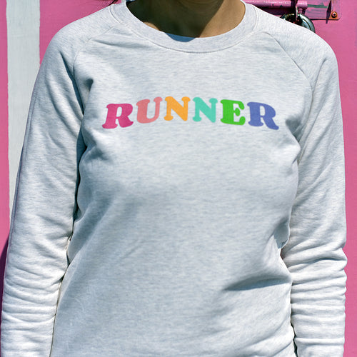 Runner Rainbow Sweater