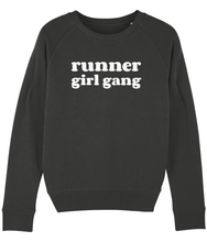 Load image into Gallery viewer, Runner Girl Gang Sweater - Track and Fit Club