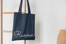 Load image into Gallery viewer, Runner Tote Bag