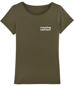 Running and Beer Tshirt - Track and Fit Club
