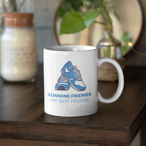 Running Friends are Best Friends mug