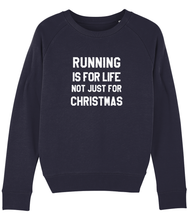 Load image into Gallery viewer, Running is for Life, Not Just for Christmas Sweater - Track and Fit Club