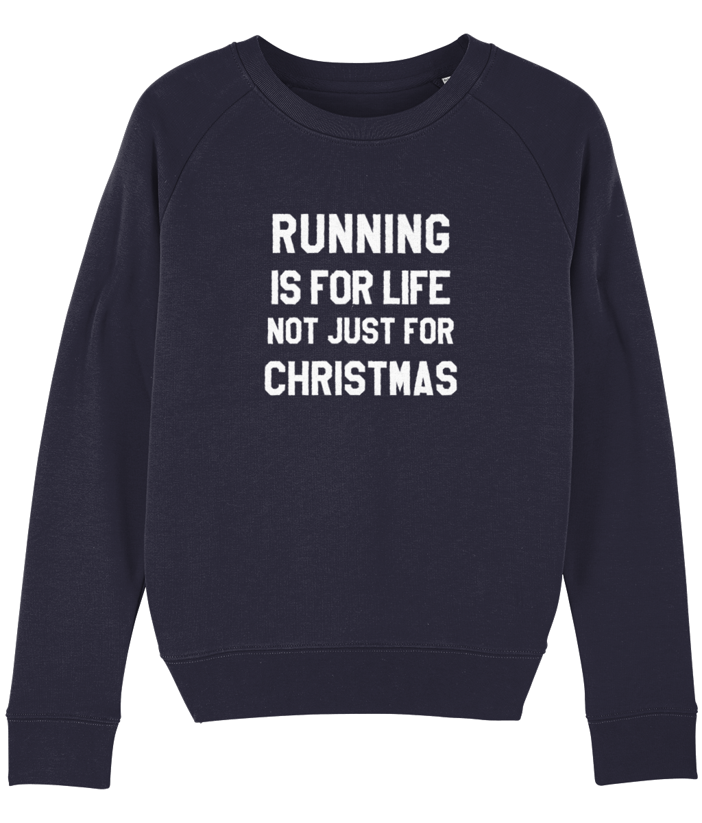 Running is for Life, Not Just for Christmas Sweater - Track and Fit Club