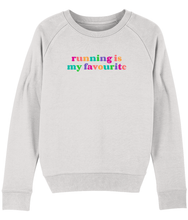 Load image into Gallery viewer, Running is My Favourite Rainbow Sweater - Track and Fit Club