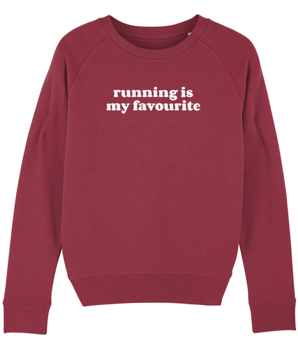 Running is My Favourite Sweater - Track and Fit Club
