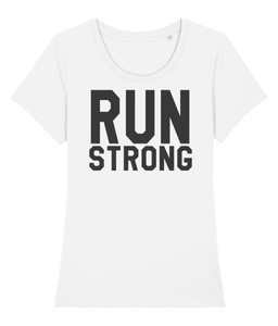 Run Strong Tshirt - Track and Fit Club
