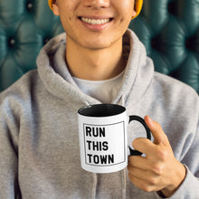 Load image into Gallery viewer, Run This Town Mug