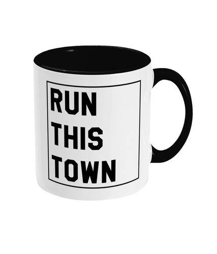 Run This Town Mug - Track and Fit Club