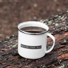 Load image into Gallery viewer, Seize The Day Enamel Mug