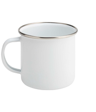 Load image into Gallery viewer, Seize The Day Enamel Mug - Track and Fit Club