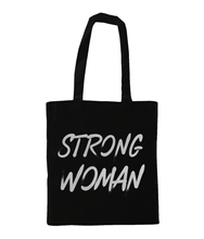 Load image into Gallery viewer, Strong Woman Tote Bag - Track and Fit Club