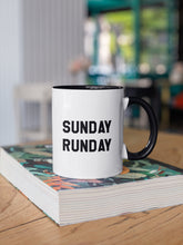 Load image into Gallery viewer, Sunday Runday Running Mug - Track and Fit Club