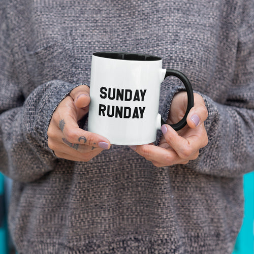 Sunday Runday Running Mug