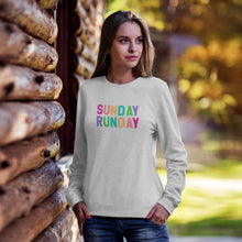 Load image into Gallery viewer, Sunday Runday Rainbow Sweater