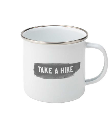 Take a Hike Enamel Mug - Track and Fit Club
