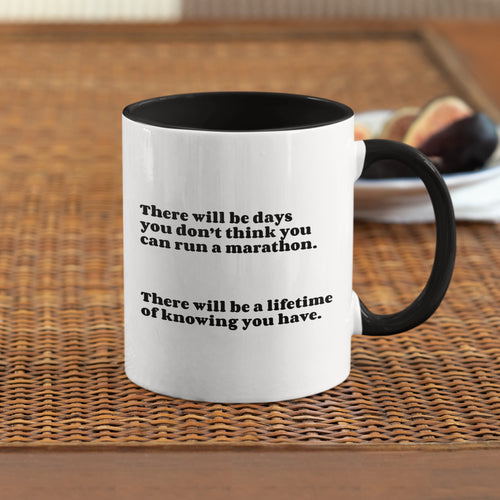 There will be Days marathon mug