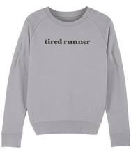 Load image into Gallery viewer, Tired Runner Sweater - Track and Fit Club