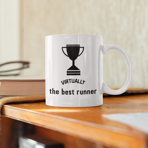 Virtually the Best Runner mug