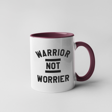 Load image into Gallery viewer, Warrior not Worrier Mug