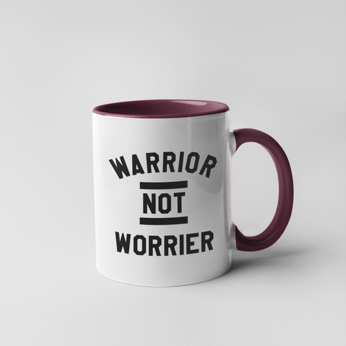 Warrior not Worrier Mug