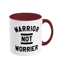 Warrior not Worrier Mug - Track and Fit Club