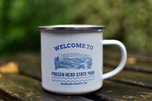Load image into Gallery viewer, Welcome to Frozen Head State Park Enamel Mug