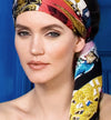 silk satin turban
