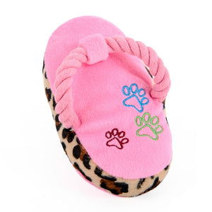Open image in slideshow, Slipper chew toy