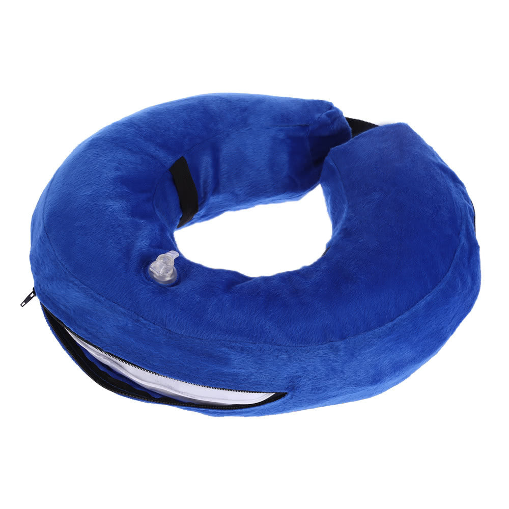 Inflatable Pet Cat Dog Recovery Protective Collar Cones Comfortable Dog