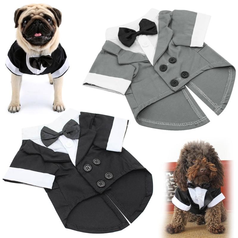 Suit Clothing Puppy Wedding Party for Dog Cats