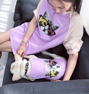 Open image in slideshow, Cool Family Clothes For Dog