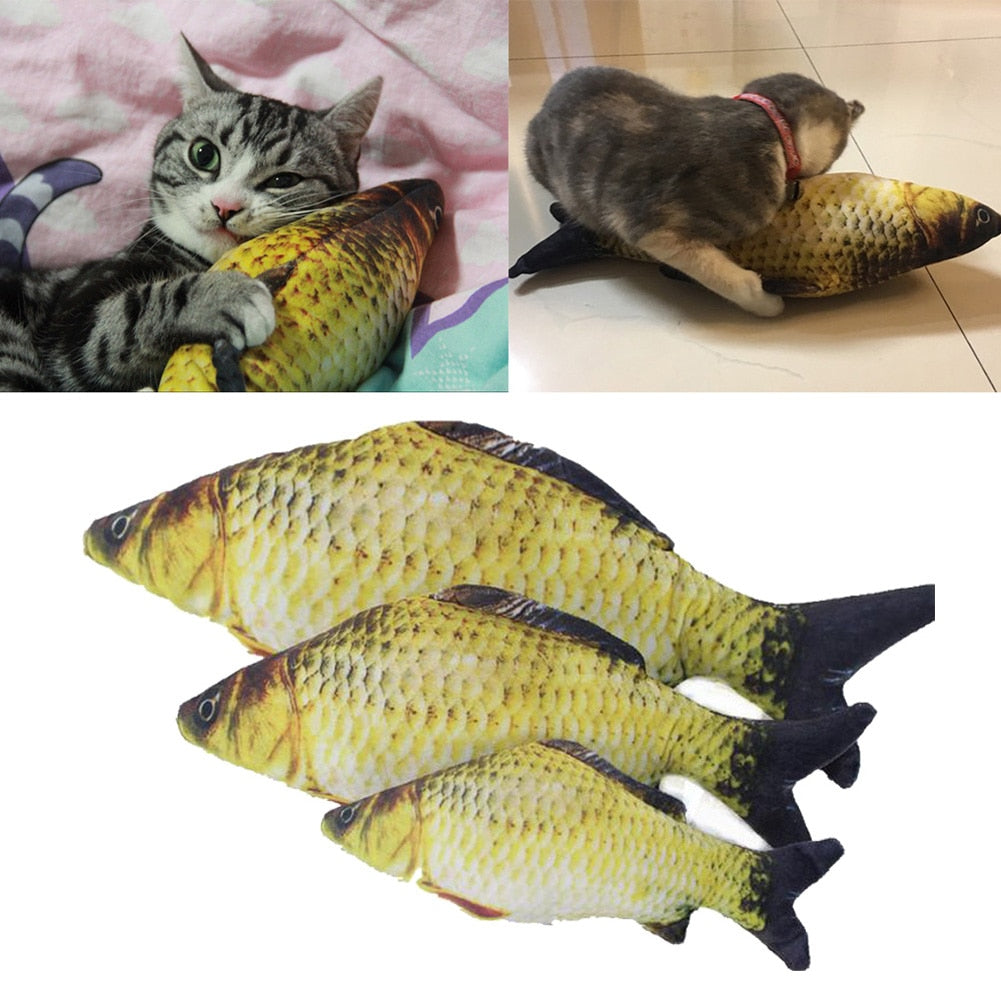 Artificial Catmint Fish Toys