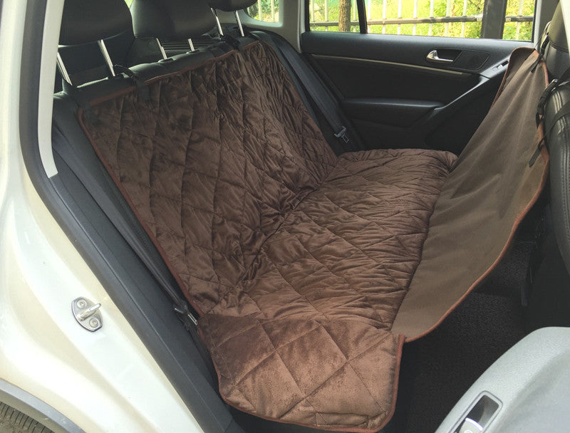 Pet Dog Car Rear Bench Back Seat Cover