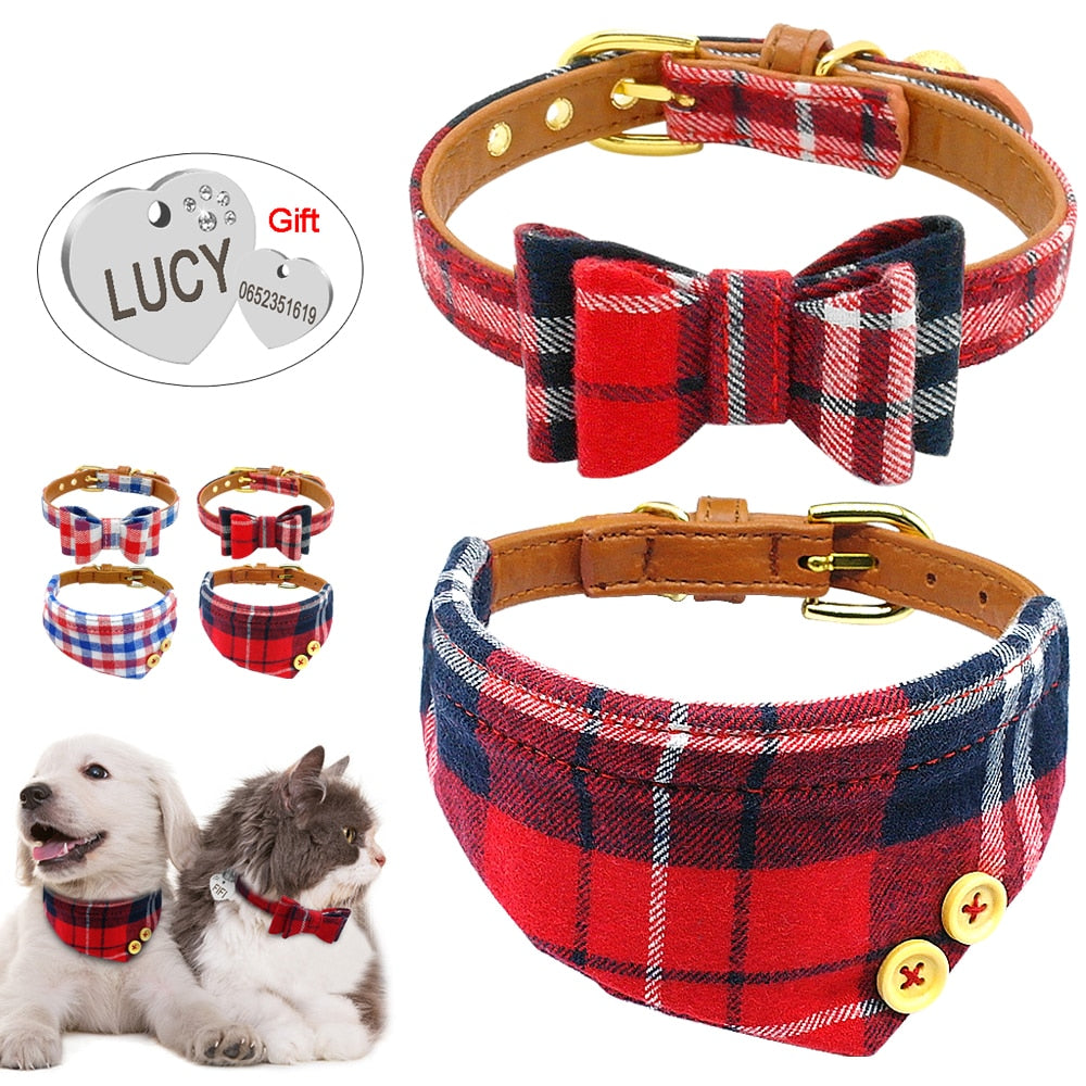 Puppy Dog Cat Collar Bandana