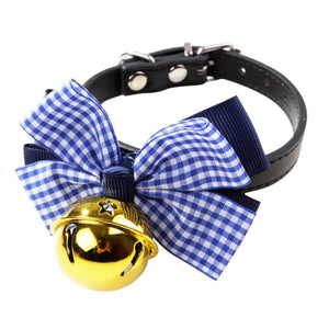 Open image in slideshow, Pet Adjustable Bell Collar Cats & Dogs Banded Wedding