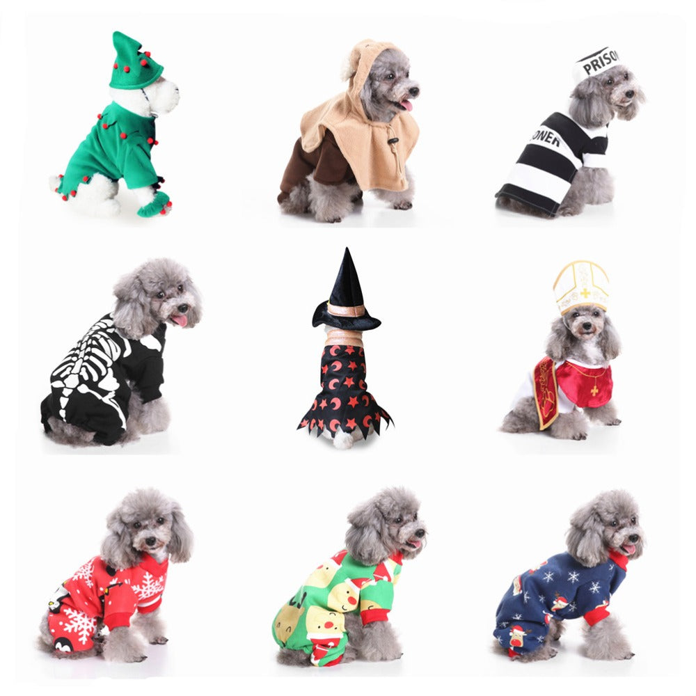 New Hot Dog Clothes For Small Dogs Halloween