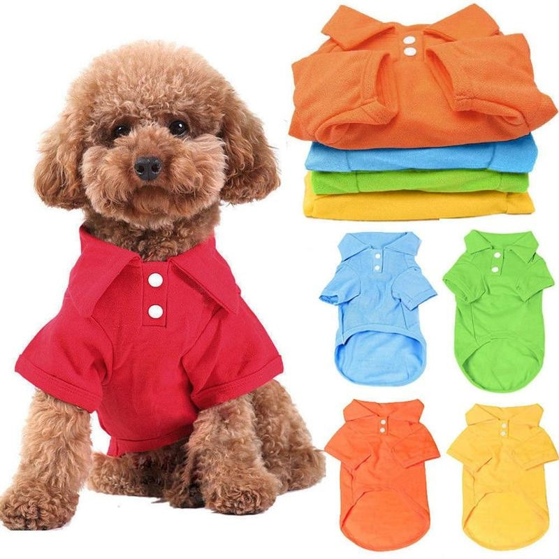 pet dog polo T shirt summer
