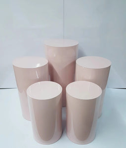 Pink/Blue/Grey Round Plinth Sets Bulk Pricing
