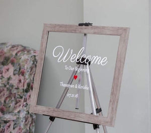 Welcome Signs - Rectangle