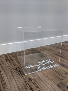 Acrylic Box with Hinge