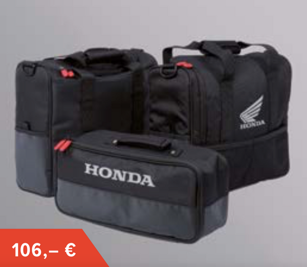 Original Honda CRF1000L Africa Twin 2016-2019 Innenpacktasche Koffersatz - BIKERS BIKESHOP