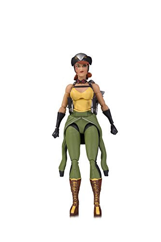 DC Collectibles Designer Series Bombshells by Ant Lucia Hawkgirl Action Figure