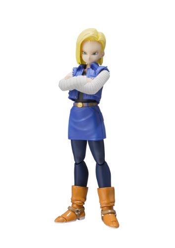 "Bandai Tamashii Nations S.H.Figuarts Android 18"" Dragon Ball Z Action Figure"