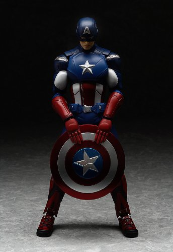 Good Smile The Avengers: Captain America Figma Action Figure