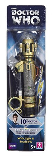 Doctor Who: River Song's Future Sonic Screwdriver 10th Doctor (with Light & Sound FX)