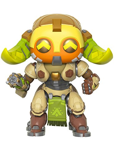"Funko Pop Games: Overwatch - 6"" Orisa Collectible Figure, Multicolor"