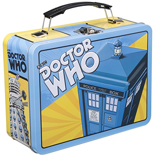 Vandor 16070 Doctor Who Large Tin Tote, Multicolor